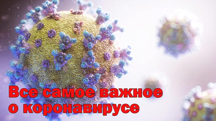 коронавирус симптомы и карта